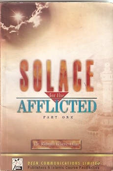 SOLACE FOR AFFLICTED