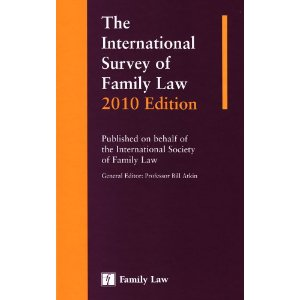 The International Survey of Family Law 2010