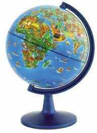 Dinoz World Globe