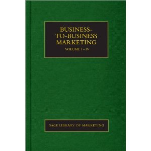 Business-to-Business Marketing (SAGE Library in Marketing)