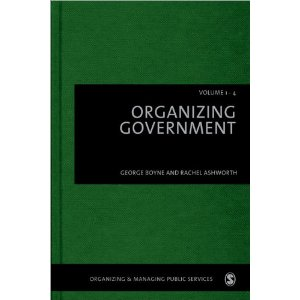 Organizing Government (Organizing & Managing Public Services)