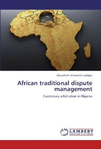 African traditional dispute management