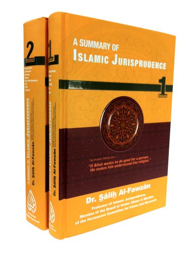 A Summary of Islamic Jurisprudence (2 Vol)
