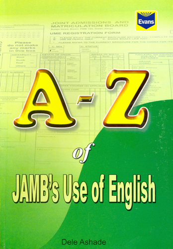 Evans A-Z of Jamb�s Use of English