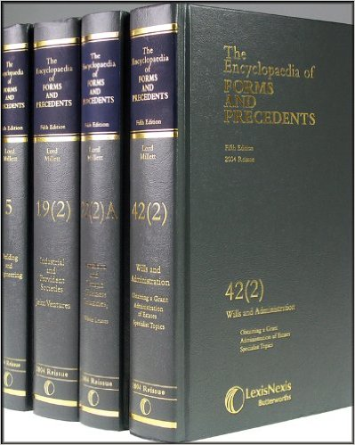 The Encyclopaedia of Forms and Precedents